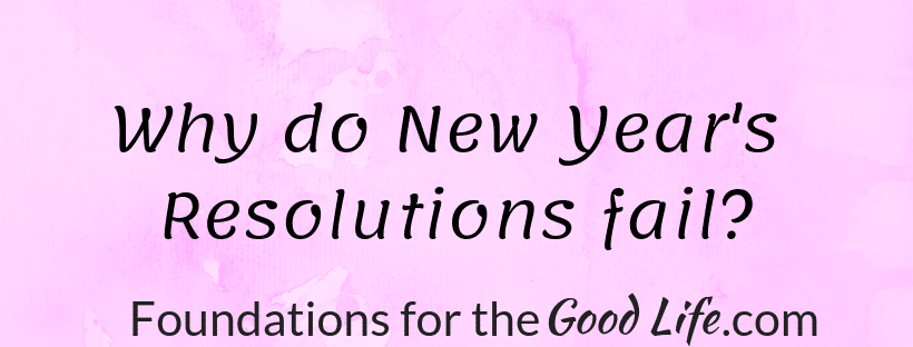 Text image: Why do New Year's Resolutions fail?
